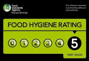 Henry's Kitchen 5 Star Food Hygiene Rating